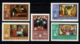 Nicaragua 1976 Yv 1033/37**, Scott 1004/08**- Mi 1919/23**   MNH - Nicaragua