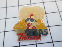 516b Pin's Pins / Beau Et Rare / THEME : MOTOS / RALLYE ATLAS RACER MOTO CROSS ENDURO - Motorfietsen