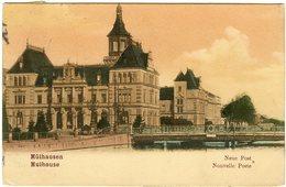 CPA 68 - Mulhouse Mülhausen Neue Post Nouvelle Poste Vers 1906 - Mulhouse