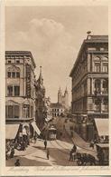 Magdeburg Blick Auf Rathaus Und Johannis Kirche Old Postcard - Postales