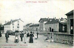 CPA.88.VOSGES.GOLBEY.PLACE DE LA FETE. - France