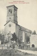 Sainte Barbe  L'Eglise  Attelage - France