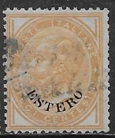 Italia Italy 1874 Estero De La Rue C10 Sa N.4 US - 11. Foreign Offices