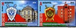 Belarus 2016 Attorneys General Of The CIS Member States Mi 1143-1144 MNH* - Belarus