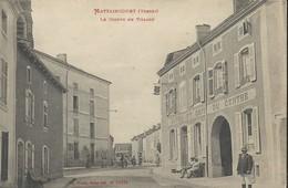 Mattaincourt    LeCentre Du Village    Hotel Et Cafè Du Centre - France