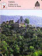 THINES  - Photo Du Site - FICHE GEOGRAPHIQUE Larousse Laffont - Géographie