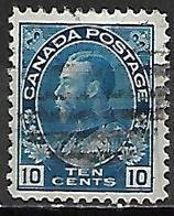 CANADA   -   1918 / 25 . Y&T N° 116 Oblitéré .   George  V. - Gebruikt