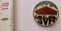 Insigne Ancien Métal Ski SVH - Wintersport