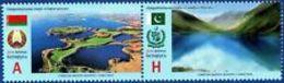 Belarus 2016 National Parks Joint Issues Belarus Pakistan Landscapes Mi 1151-115 MNH* - Belarus