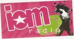 AUTOCOLLANT STICKER  RADIO ISLE OF MAN IOM - Pegatinas