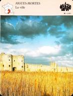 AIGUES MORTES  - Photo Remparts   - FICHE GEOGRAPHIQUE Larousse Laffont - Géographie