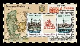 Denmark 2020 Mih. 2014/16 (Bl.76) Europa. Ancient Postal Routes MNH ** - Dänemark