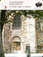 LE MONASTIER SUR GAZEILLE  - Photo Eglise Saint Chaffre - FICHE GEOGRAPHIQUE Larousse Laffont - Géographie