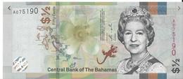 BAHAMAS - 1/2 Dollars 2019 - UNC - Bahamas