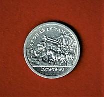 AFGHANISTAN / JETON Ou MEDAILLETTE ? / 1878 - 79 - 80 / ALU - Fichas Y Medallas