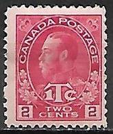 CANADA   -   1915 / 16  .  Y&T N° 105 *. - 1911-1935 George V