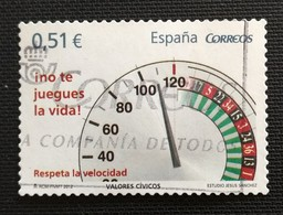 142. SPAIN  2012 USED STAMP RESPECT SPEED - 1931-Oggi: 2. Rep. - ... Juan Carlos I