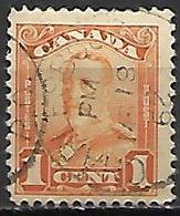CANADA   -   1928 / 29  .  Y&T N° 129 Oblitéré .   George V. - Gebruikt