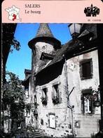 SALERS  - Photo Maison Bertrandy   - FICHE GEOGRAPHIQUE Larousse Laffont - Géographie