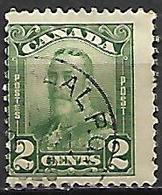 CANADA   -   1928 / 29  .  Y&T N° 130 Oblitéré .   George V. - Gebruikt