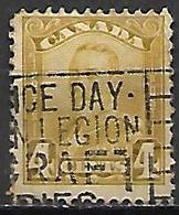 CANADA   -   1928 / 29  .  Y&T N° 132 Oblitéré .   George V. - Gebruikt