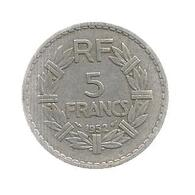 Monnaie , France , 5 Francs , 1952 , 2 Scans - J. 5 Francs