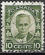 CANADA   -  1931 .  Y&T N° 156  Oblitéré.  Sir George Etienne Cartier - Gebruikt