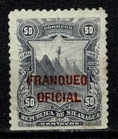 Nicaragua 1893 Frandueo Oficial  (2 Scans) - Nicaragua