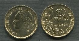 20 F G. GUIRAUD 1950 3 FAUCILLES - L. 20 Francs