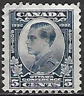 CANADA   -  1932 .  Y&T N° 159 Oblitéré.    Prince De Galles - Gebruikt