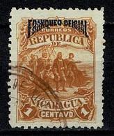 Nicaragua 1892 Frandueo Oficial 21 - Nicaragua