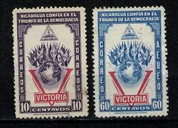 Nicaragua 1943 Victoria 10c. + 60c. Airmail - Nicaragua