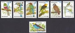 Nicaragua - 1991 Fauna, National Birds, Oiseaux, Vogel, Uccelli Tropicali - (Complete Set Of 7v.) Used - Nicaragua