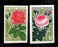 France YT N° 1356/1357 Non Dentelés Neufs ** MNH. TB. A Saisir! - France