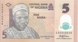 NIGERIA - 5 Naira 2018 - UNC - Nigeria