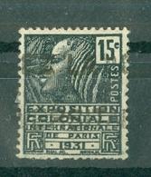 FRANCE - N° 270 Oblitéré - Exposition Colonial Internationale De Paris. Femme Fachi. - Francia