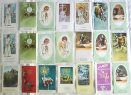 Francia - Lotto (18 Images Sainte + 3 Doublons) PREMIÈRE COMMUNION De OLIVIER GALICHET 8 Mai 1983 - OTTIMO P42- - Religione & Esoterismo
