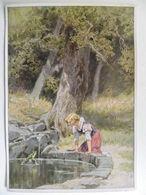 Grimm  Froschkönig... Frog King...  / Contes De Fées / Fairy Tales  Serie: Deutsche Märschen 2 Scan - Collections