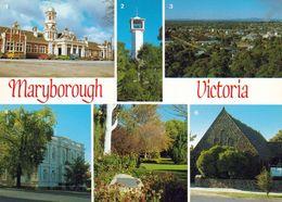 1 AK Australien * Ansichten Der Stadt Maryborough U.a. Bahnhof, Rathaus, St. Andrew Kirche, Botanische Garten * - Australia