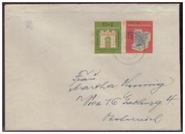 Bund (005949) Brief Mit MNR 171/ 172 Gelaufen - Storia Postale