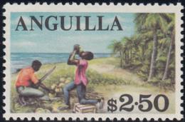 Anguilla 1967-68 MNH Sc #30 $2.50 Coconut Harvest - Anguilla (1968-...)