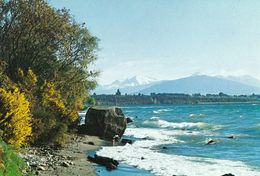 1 AK Neuseeland * Mission Bay - Lake Taupo And The Volcanoes Of The Tongariro National Park Auf Der Nordinsel * - New Zealand