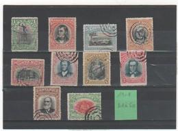 COSTA RICA 1901 YT N° 41 à 50 - Costa Rica