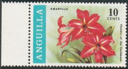 Anguilla 1969 MNH Sc #70 10c Amaryllis Flowers - Anguilla (1968-...)
