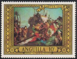 Anguilla 1970 MNH Sc #91 10c The Way To Calvary Easter - Anguilla (1968-...)