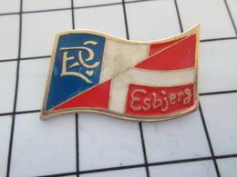 516b Pin's Pins / Beau Et Rare / THEME : AUTRES / DRAPEAUX MELES NORVEGE FRANCE ESBJERG - Badges