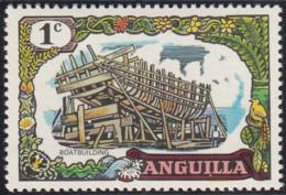 Anguilla 1970 MH Sc #99 1c Boatbuilding - Anguilla (1968-...)