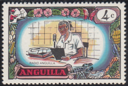 Anguilla 1970 MH Sc #102 4c Radio Anguilla - Anguilla (1968-...)