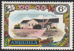 Anguilla 1970 MH Sc #104 6c Valley Secondary School - Anguilla (1968-...)