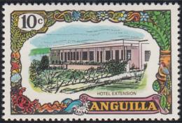 Anguilla 1970 MH Sc #105 10c Hotel Extension - Anguilla (1968-...)